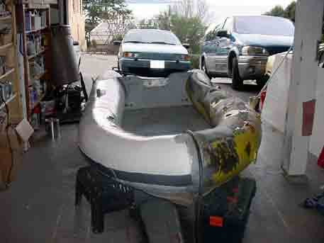 Repairing your inflatable boat now as easy as painting