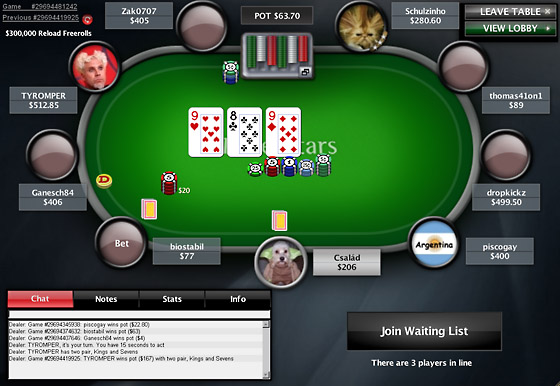 Pokerstars Code