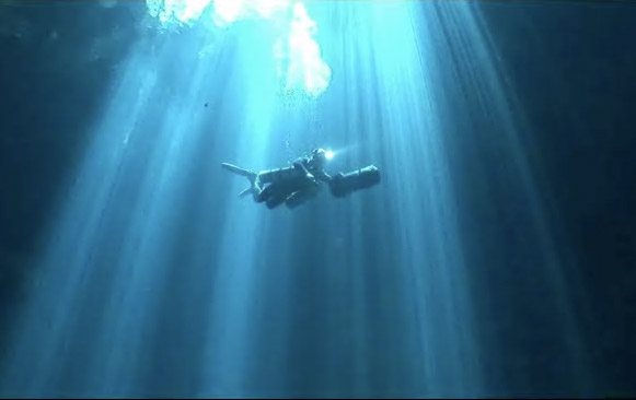 Cave Diving At It's Best