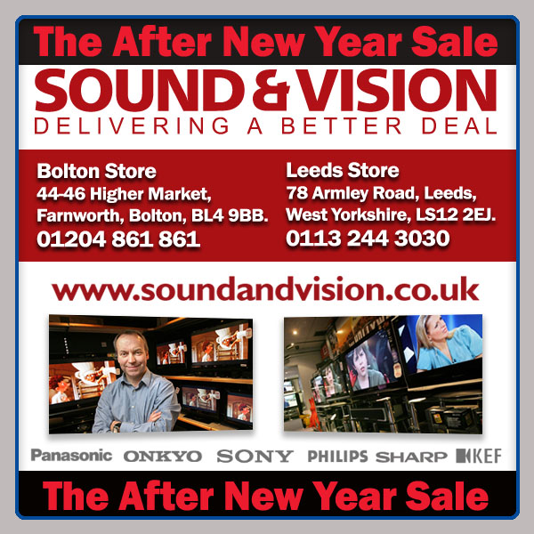 Price Busting After New Year Sale Begins At Sound And Vision