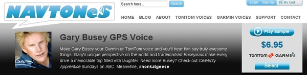Gary Busey Launches GPS Voice App, Advises Drivers to