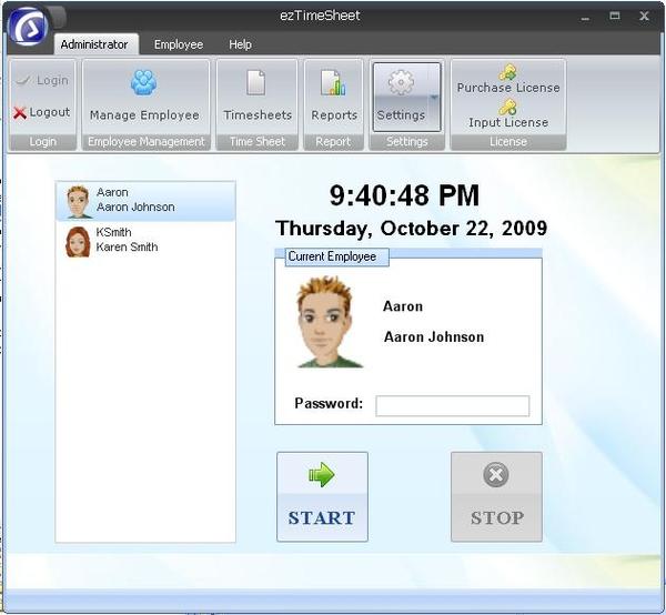 eztimesheet employee attendance tracking software updated to manage
