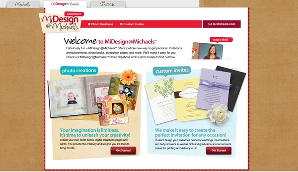 Michaels Launches Midesignmichaels Photo Creations And Custom Invites
