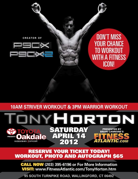 Fitness Atlantic Event Presents Live Workout with Tony