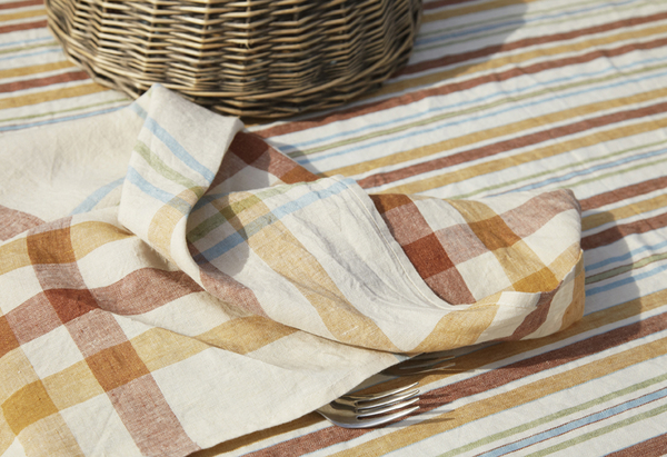 Didriks Announces New Table, Bed and Kitchen Linens from Libeco Home