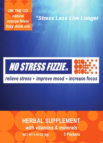 On the Go Herbal Stress Relief Supplement Designed to Fit