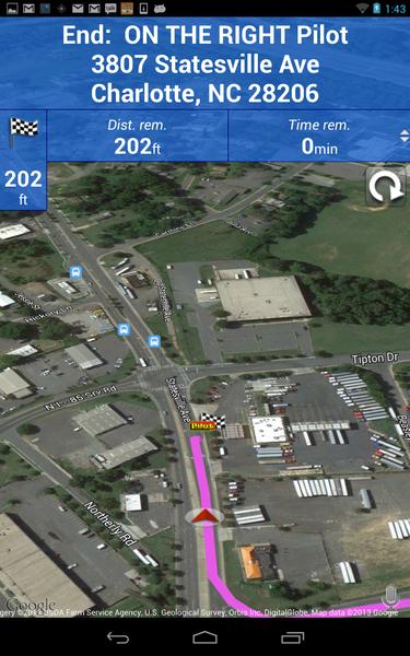 SmartTruckRoute Truck GPS Navigation App Now Offers Truck Stops ...