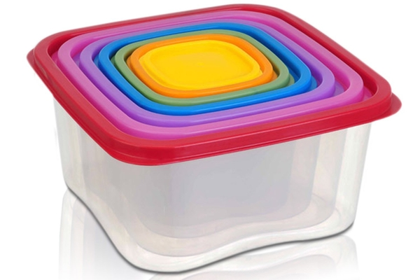 14 Piece Rainbow Food Storage Containers by Life Made Better are Now