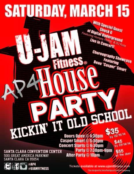 U-Jam Fitness Kicks it Old School with a Massive House Party to