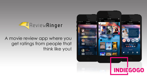 Review Ringer, New Startup Movie Review Application Launches