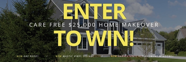 $25,000 Home Makeover Sweepstakes Offered by Care Free Homes of