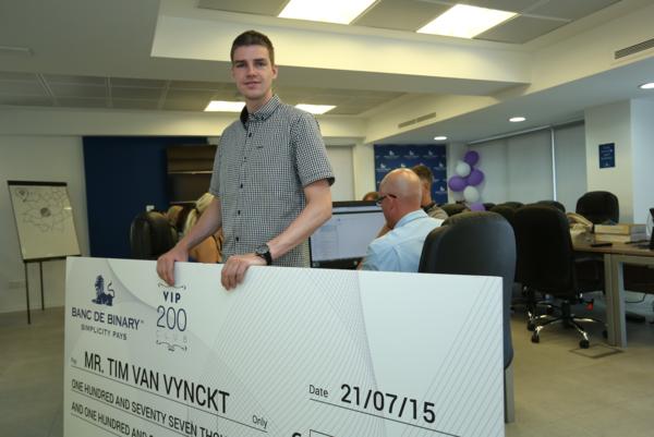 Banc de binary trader profits over eur100 000 gets vip treatment in cyprus - Banc de binary withdrawal ...
