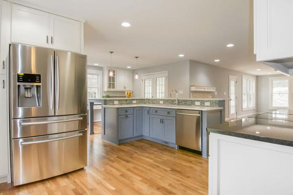 Southern Ridge Builders Completes Major DesignBuild Open Floor Plan New Kitchen Remodeling Raleigh Nc Plans