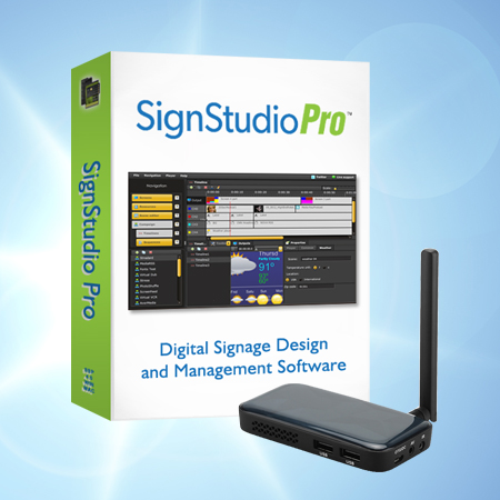 MySignageNow Offers Full-Feature Digital Signage Player and