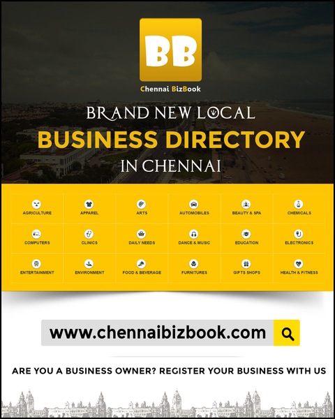 Chennai BizBook Announcing the Launch - The Local Business