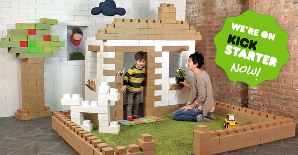 Edos Giant Lego Like Blocks Now On Kickstarter