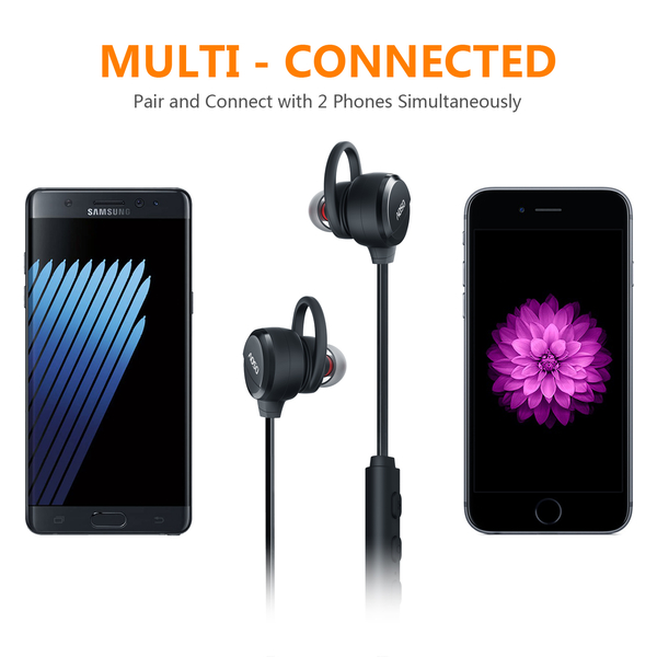 Aoso M21 Magnetic Sport Bluetooth V4 1 Headphone