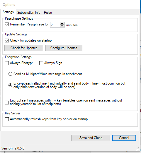Snoop-proof Outlook Emails with Encryptomatic Open PGP