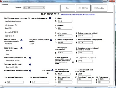 W2 1099 Form Ezw2 Software Now Offers Free Test Drive