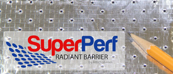 AtticFoil com Adds SuperPerf Radiant Barrier to Product Line