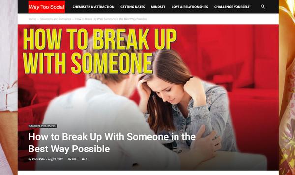 Dating a website