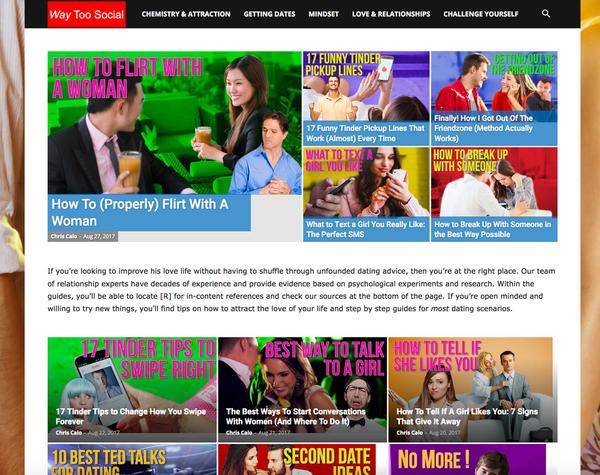 Best websites for dating advice