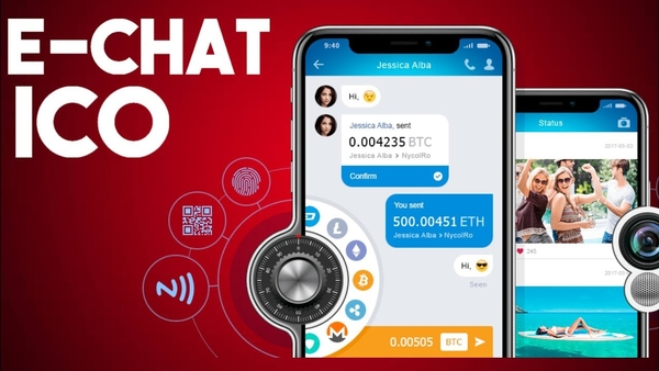 e-Chat App Combines Social With Bitcoin