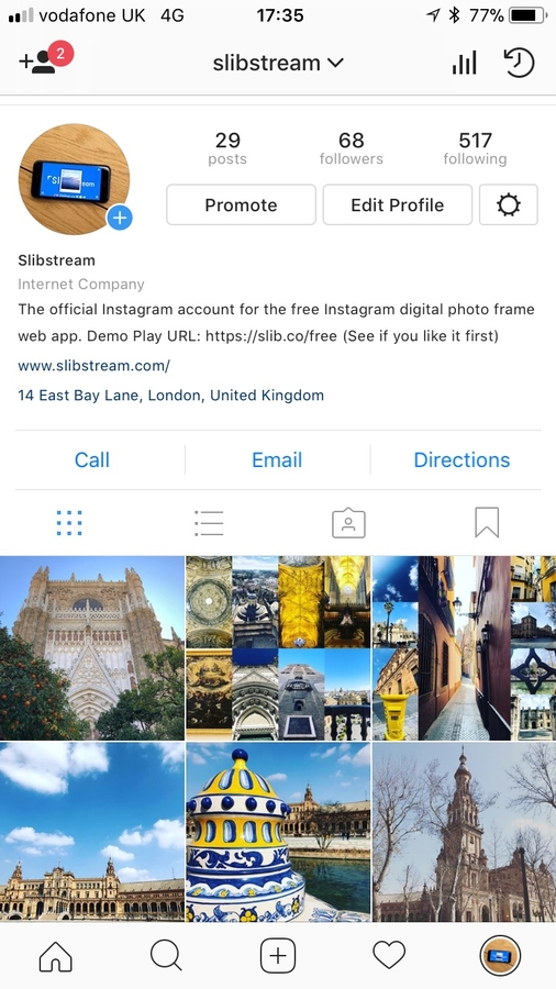 Slibstream Launches 66 Free Instagram Photo Frames Which Can Be ...