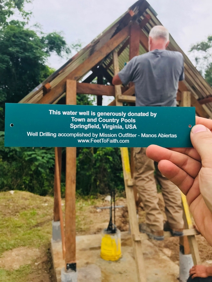 Mission Outfitter Dedicates Peruvian Fresh Water Well to
