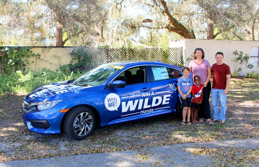 Wilde honda sarasota partners with sarasota christian for Wilde honda sarasota fl