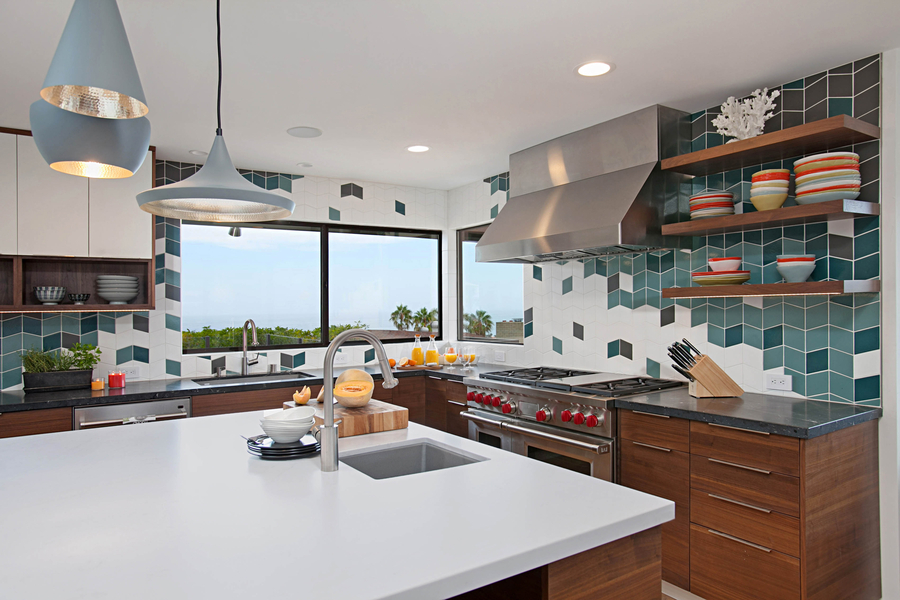 Bold, Colorful Ocean Beach Kitchen Charms Judges, Earns ...