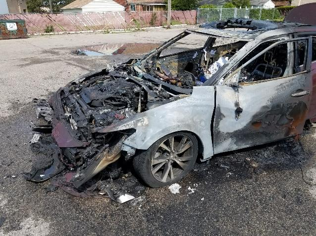 Exploding Cell Phone Causes Car Fire and Threatens Woman's Life
