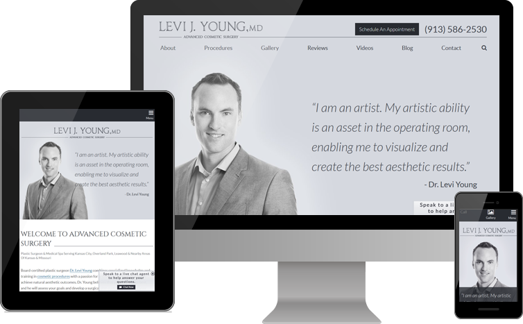 Advanced Cosmetic Surgery Launches New Custom Website For Patients In The Kansas City Areas Of Kansas And Missouri