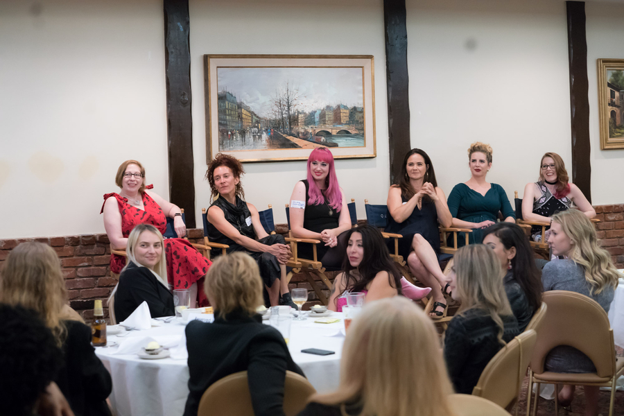Women in Media Hosted Pre-Party for Etheria Film Night