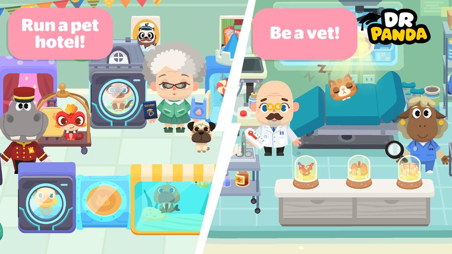 Dr  Panda Town: Pet World Introduces Kids To An Enchanted