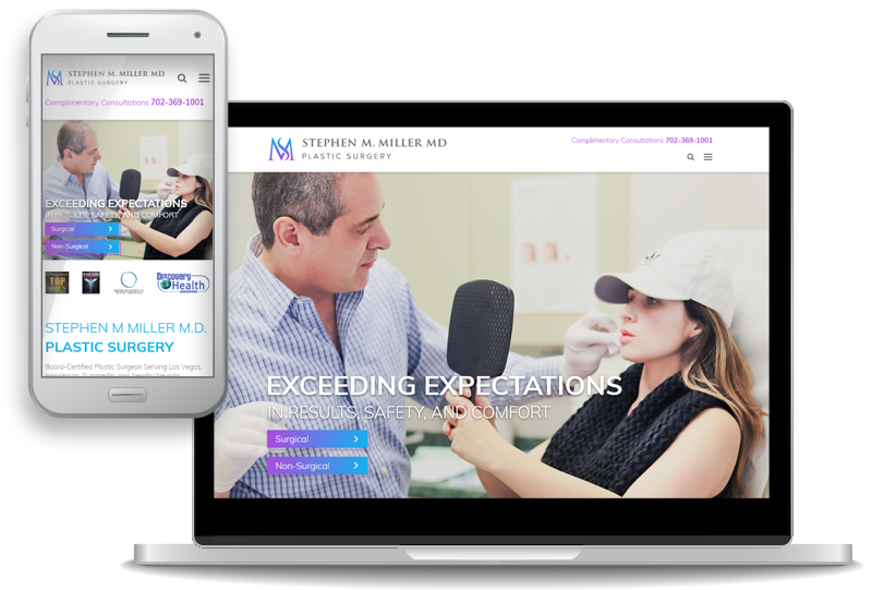 Board Certified Plastic Surgeon Dr Stephen Miller Launches New Website For Patients In And Around Las Vegas