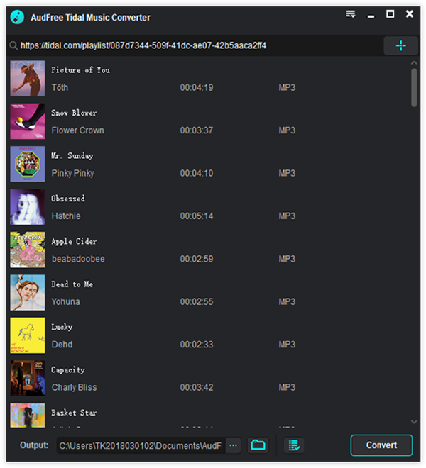 AudFree Announces New Release of Tidal Music Converter 1 0 1
