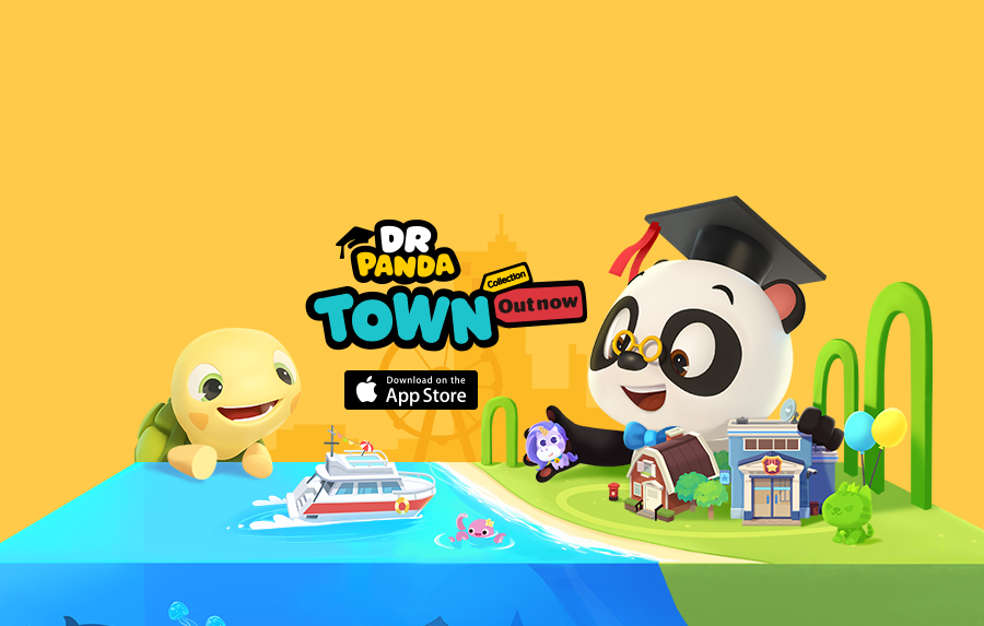 Leading Kids' App Developer Dr  Panda Launches New Mega App!