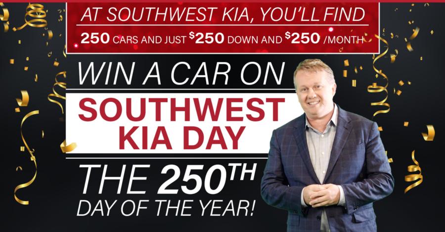 Southwest Kia Austin >> Southwest Kia To Celebrate 250th Day Of The Year With New