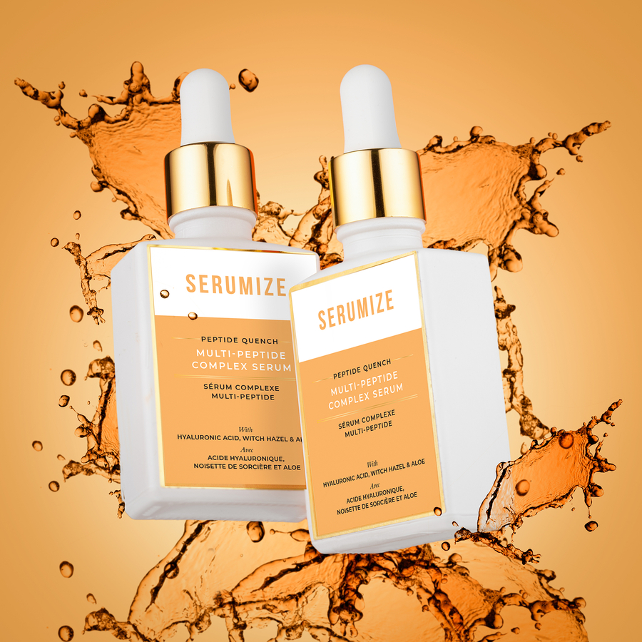 Serumize Skin Steers Enthusiasts Away from the 12 Step Skin Regimen to More Effective Routines with their New Line of Active Serums