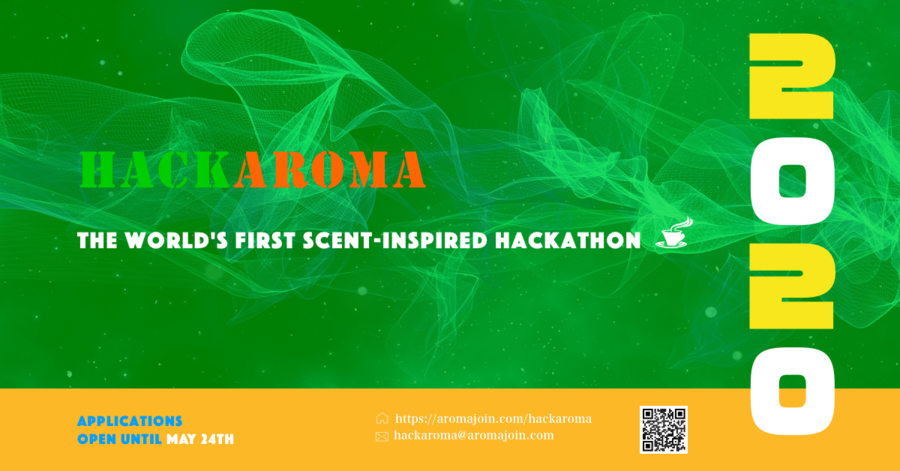 Applications Officially Open for Hackaroma 2020, the World's First 'Digital Scent' Hackathon