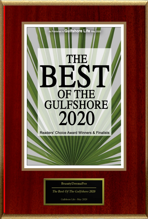 "BeautyDermaPro Selected For ""The Best Of The Gulfshore 2020"""