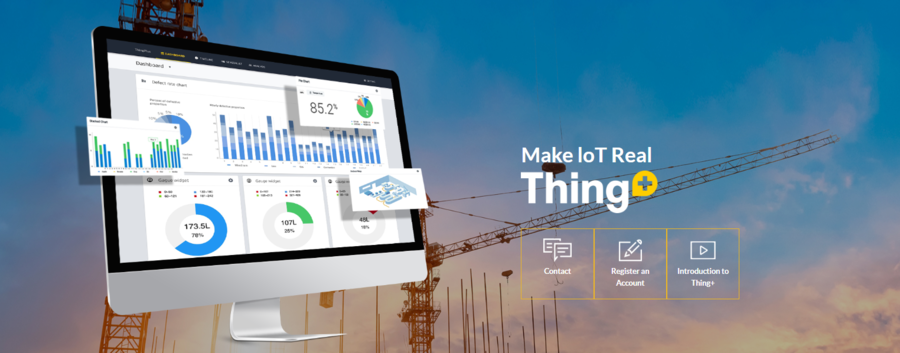 ThingPlus – A Cutting Edge Internet of Things Cloud Platform Created by Daliworks and a Cloud-based IoT Platform that Enables Solutions in a Variety of Industries