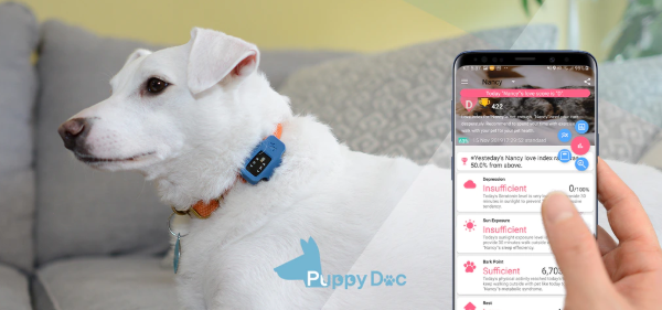 JM smart, The World's First to Develop Pet Health Promoting Device 'PuppyDoc'