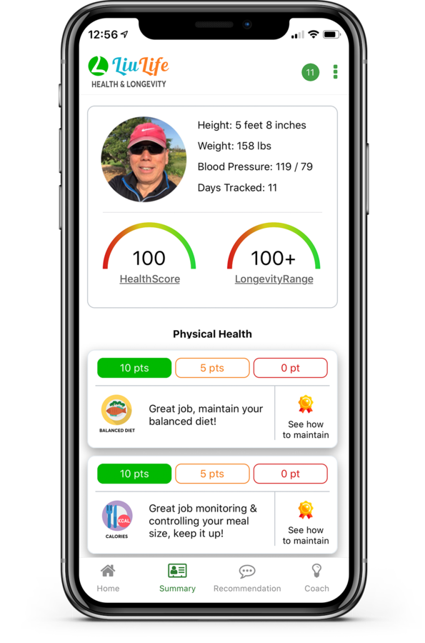 New LiuLife App Helps Guide Users Down Road to Healthier Lifestyle, Longer Life