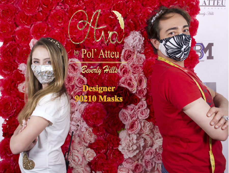 Disney Channel Actress Ava Kolker Partners With Celebrity Designer Pol Atteu For Exclusive Face Mask Collection To Support Hospital Workers