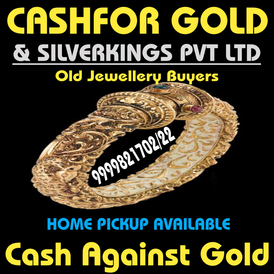 Cashfor Gold & Silverkings Are Paying The Highest Cash Against Gold In Pandemic Within Just Half An Hour