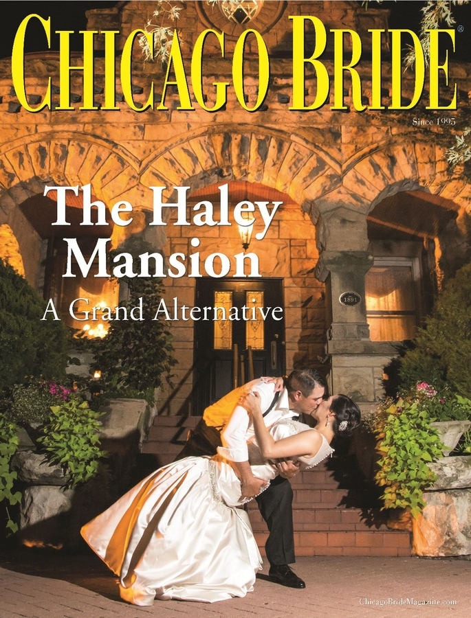 The Haley Mansion Featured in Chicago Bride Magazine