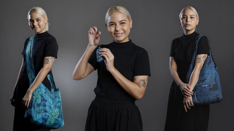 Reusable Shopping Bags Reinvented: Nanobag 4.0 – Ultralight Reusable Shopping Bag