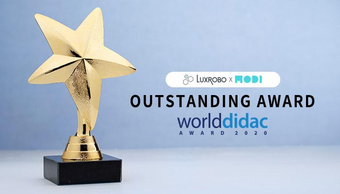 LUXROBO Wins Worlddidac